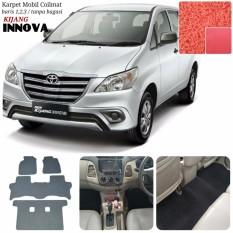 Karpet Mobil Innova Grand New Full Tanpa Bagasi - Warna Merah
