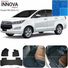 Karpet Mobil Innova Reborn Baris 1,2 - Warna Biru