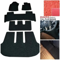 Karpet Mobil Innova Reborn Full Plus - Warna Merah