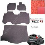 Karpet Mobil Jazz Rs New Plus Bagasi Warna Merah Jawa Timur Diskon 50