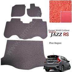 Karpet Mobil Jazz Rs New Plus Bagasi Warna Merah Diskon Jawa Timur