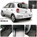 Harga Karpet Mobil Nissan March Warna Hitam Yang Murah Dan Bagus