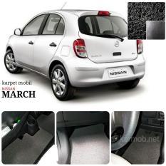 Promo Karpet Mobil Nissan March Warna Hitam Jawa Timur