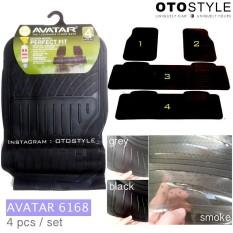 Karpet Mobil Universal Avatar 6168 Avanza Xenia Calya Sigra Mobilio CRV Rush Xpander DLL - 3 Baris