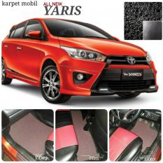 Karpet Mobil Yaris All New - Warna Hitam