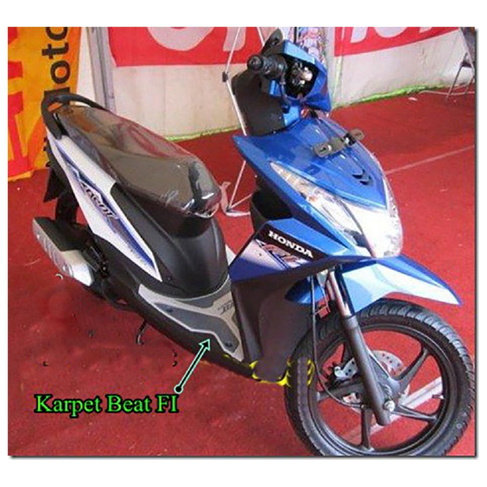 Karpet Motor Beat Sporty Esp Merah Lazada Indonesia Honda New Cbs Iss 2017