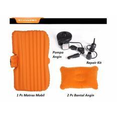 Kasur Mobil / Car Matres Istirahat Nyaman Terasa Di Rumah (Kualitas terbaik Kenyamanan Berkendara) Orange