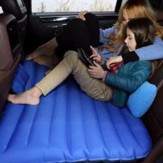 Kasur Mobil Matras Mobil Serbaguna Untuk Piknik Camping Rekreasi Renang Tidur Persiapan Lebaran Sofa Dadakan Blue