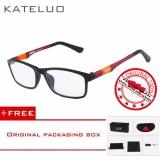 Spesifikasi Kateluo 13022 Kacamata Komputer Anti Radiasi Pria Wanita Frame Ringan Free Kotak Hardcase Original Lengkap