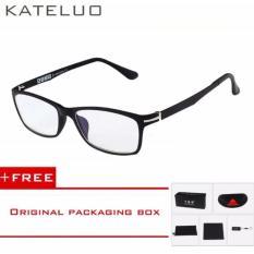 Spek Kateluo 13025 Frame Kacamata Anti Radiasi Komputer Dan Gadget Black Kateluo