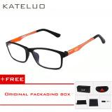 Harga Kateluo Baru Merek Kacamata Baca Pria Wanita Komputer Kacamata Uv Kelelahan Radiasi Kacamata Miopia Bingkai Hitam Putih Bule 13022 Orange Beli 1 Gratis 1 Freebie Online