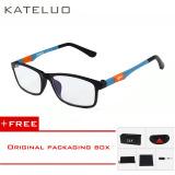 Harga Kateluo Baru Kacamata Baca Pria Wanita Komputer Uvglasses Kelelahan Radiasi Kacamata Miopia Bingkai Hitam Putih Bule 13022 Beli 1 Mendapatkan 1 Freebie Asli