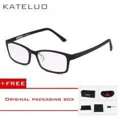 Ulasan Lengkap Tentang Brand Kateluo Kacamata Baca Kacamata Anti Radiasi Kacamata Anti Laser Biru Menghindari Pusing Computer Tungsten Carbon Oculos De Grau 1310 Hitam Beli 1 Gratis 1