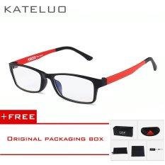 Jual Kateluo Pria And Wanita Anti Kelelahan Radiasi Komputer Goggles Kacamata 1302 Merah Beli 1 Gratis 1 Freebie Import