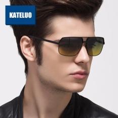 Harga Kateluo Baru Hari Malam Dual Purpose Vision Pria Kacamata Pria Kacamata Hitam Terpolarisasi Lensa Gradien Eyewear Pria Oculos De Sol Masculino 8549 Intl Dan Spesifikasinya