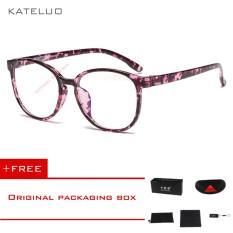 Toko Kateluo Retro Eyeswear Tr90 Anti Komputer Biru Kelelahan Laser Radiasi Tahan Kacamata Kacamata 9930 Dekat Sini