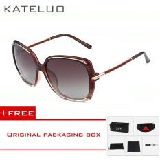 Situs Review Kateluo Retro Sunglasses Acetate Frame Polarized Mirror Lens Driver Sun Glasses Eyewears Accessories For Women 2318 Brown Buy 1 Get 1 Freebie Intl