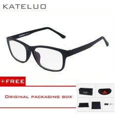 Toko Kateluo Kacamata Komputer Anti Lelah Tr90 Tahan Radiasi Bingkai Oculos Di Grau De 9219 Hitam Beli 1 Gratis Hadiah Kateluo Online