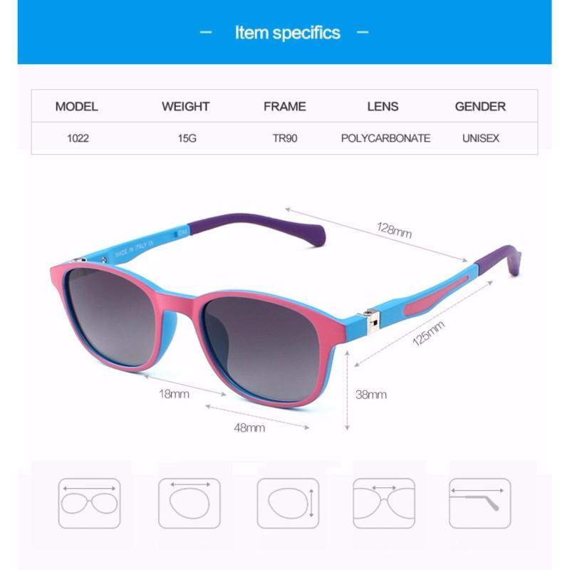 Mua KATELUO TR90 Childrens Polarized Kids goggles baby children sunglasses UV400 sun glasses boy girls cute cool glasses S1022