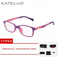 Sales Price Kateluo Children Anti Computer Blue Kids Eyeglasses Glasses Frame 1021