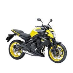 Kawasaki ER-6N ABS Yellow Sepeda Motor ( OTR BOGOR )