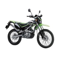 Kawasaki KLX 150BF SE Sepeda Motor - Green ( OTR BOGOR )