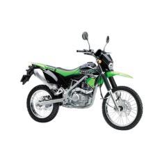 Kawasaki KLX 150S - Putih - green  (OTR BOGOR)