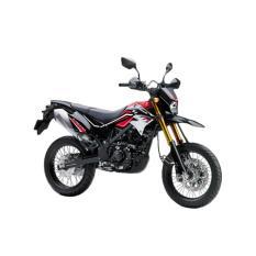 Kawasaki New D-Tracker SE Sepeda Motor - Red ( OTR BOGOR )