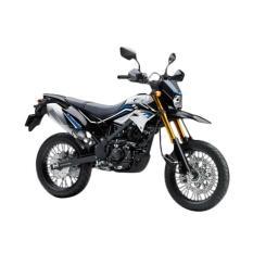 Kawasaki New D-Tracker SE Sepeda Motor - White ( OTR BOGOR )