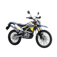 Kawasaki New KLX 150 BF SE Extreme Sepeda Motor - Blue ( OTR BOGOR )