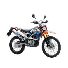 Kawasaki New KLX 150 BF SE Extreme Sepeda Motor - Orange ( OTR BOGOR )