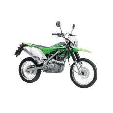 Kawasaki New KLX 150 G Sepeda Motor - Green (OTR JADETABEK)
