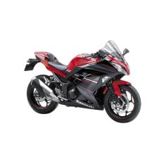 Kawasaki Ninja 250 ABS SE LTD Sepeda Motor - Red (OTR JADETABEK)