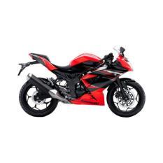 Kawasaki Ninja RR Mono Red Sepeda Motor (OTR JADETABEK)