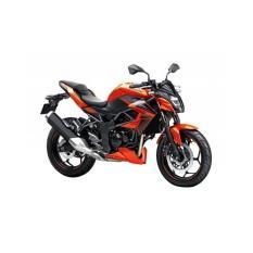 Kawasaki Z250 SL ABS Sepeda Motor - Orange (OTR JADETABEK)