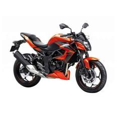 Kawasaki Z250 SL ABS Sepeda Motor - Orange ( OTR JADETABEK )