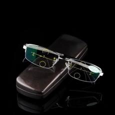 Kcasa Cerdas Kacamata Membaca UV Progresif Multifokal Lensa Presbiopia + 2.0-Internasional