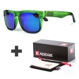 Iklan Kdeam Kacamata Reflektif Lapisan Fashion Square Men Polarized Sunglasses Merek Desainer Matahari Musim Panas Kacamata Polaroid Full Paket Kd901 5 Intl