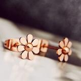 Harga Kecantikan Manis Rose Gold Anting Anting Style Anting Anting Yang Murah Dan Bagus