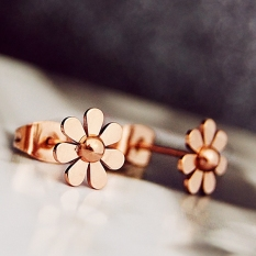 Spek Kecantikan Manis Rose Gold Anting Anting Style Anting Anting Other