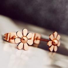 Jual Kecantikan Manis Rose Gold Anting Anting Style Anting Anting Online Di Tiongkok