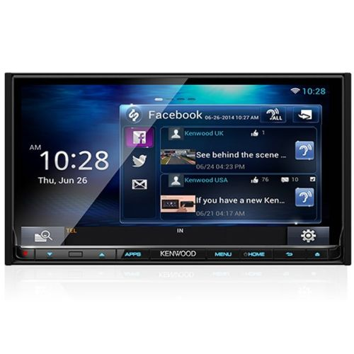 KENWOOD DNR8015BT Multimedia Receiver Bluetooth 64 BIT