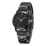 Harga Kevin 2280 Pasangan Hitam Striped Watch Quartz Watch Blackface Kecil Intl Baru