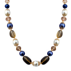 Special Kalung Eropa dan Amerika Manik-Manik Panjang Kalung Model Tipis