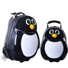 Beli Kids 2 Pc Travel Tots Bagasi Ringan Backpack Penguin Luggage Set Intl Kredit Tiongkok