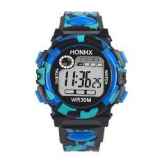 Harga Anak Gadis Anak Olahraga Multifungsi Tahan Air Elektronik Watch Watches Intl Lengkap