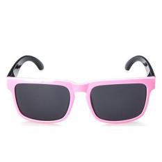 Kids Sunglasses Boys Square Kacamata Polarized Lensa Polaroid UV400 Anak Siswa Frame Girl Mirror Retro (Pink)