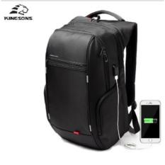 Beli Kingsons 17 Inch Ransel Laptop Eksternal Usb Charge Komputer Ransel Anti Theft Waterproof Tas Untuk Pria Wanita Model A Intl Kingsons Online
