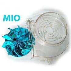 Kipas Radiator Warna Biru + Cover Radiator Transparant Untuk Mio Karbulator