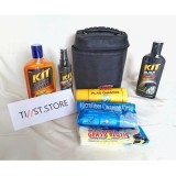 Harga Kit Cleaning Set Wash And Wax Semir Ban Kanebo Micro Fiber Yang Murah